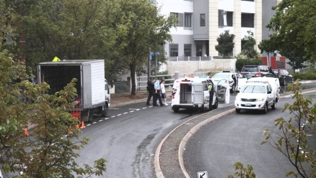 A police operation took place in Chandler Street in Belconnen on Wednesday morning.