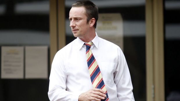 Peter Lalor was left with headaches, nausea and dizziness for six weeks after the assault.
