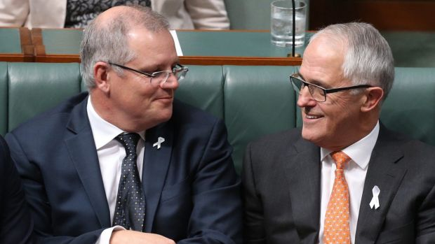 Do Scott Morrison and Malcolm Turnbull have a cunning plan up their sleeves?