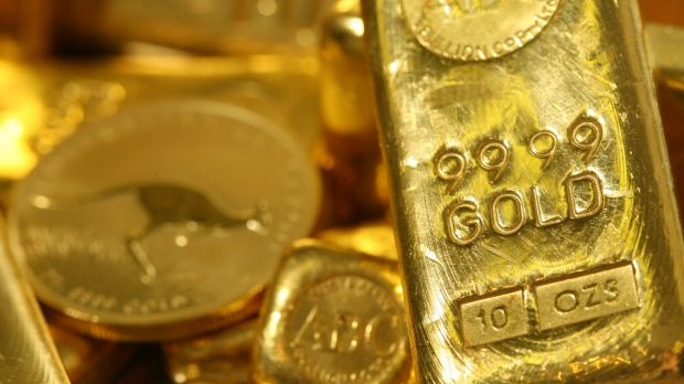 The US economy's performance has helped bring gold back in to favour.