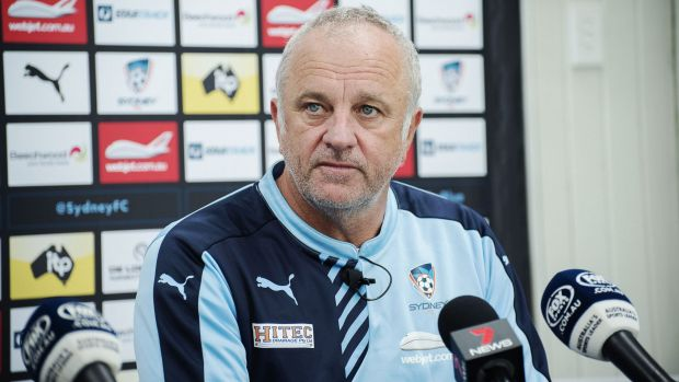 Standing firm: Sydney FC coach Graham Arnold isn't worried by criticism.