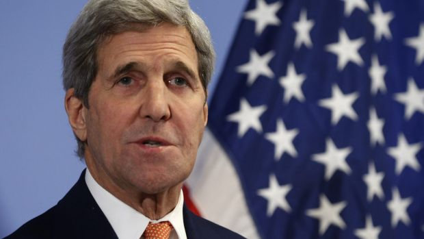 """""""All nations have a responsibility to deal with this threat': US Secretary of State John Kerry."""