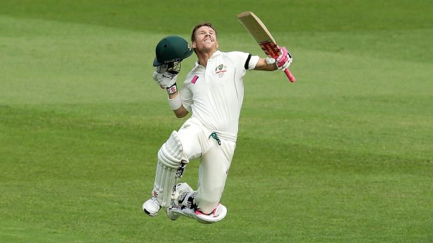 Test player of the year:  David Warner.