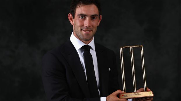One-Day Player of the Year Glenn Maxwell.