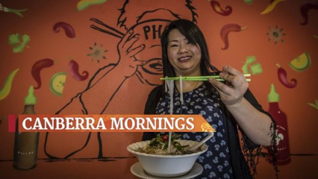 Former refugee Sue Le now owns a Canberra Vietnamese restaurant Pho Phu Quoc in Dickson.