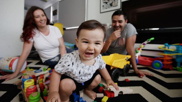 Marcelle Gomez and her husband Christian are saving so they have options when 15-month-old Cruz hits high school.