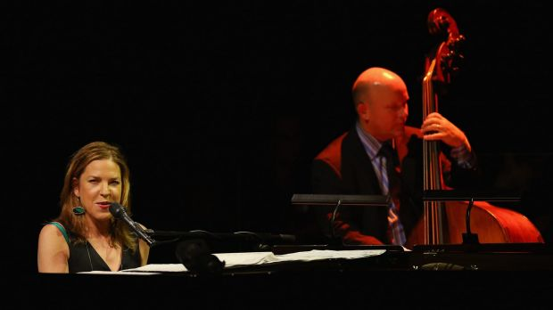 Diana Krall performs during her Australian tour.