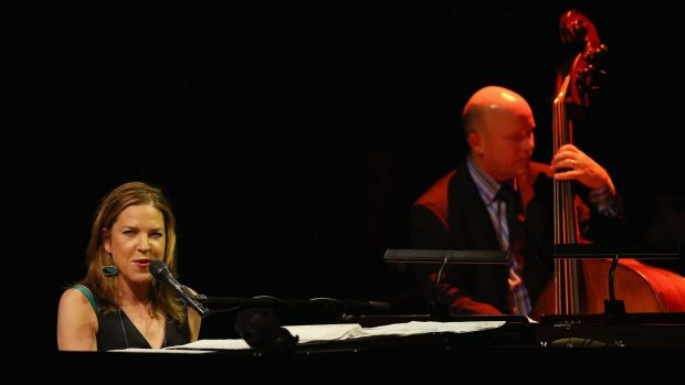 Diana Krall's Wallflower tour is lush, sumptuous and fine-tuned to sultry virtuosity.