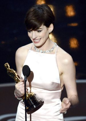 Anne Hathaway famously changed her 2013 Oscars dress just days before the ceremony because she thought her co-star was ...