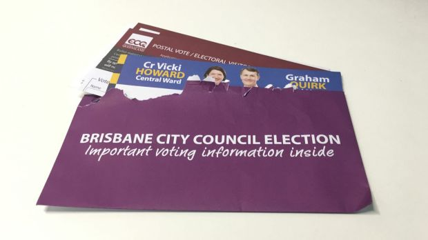 The Electoral Commission of Queensland has distanced itself from LNP election material that was sent to voters in an ...