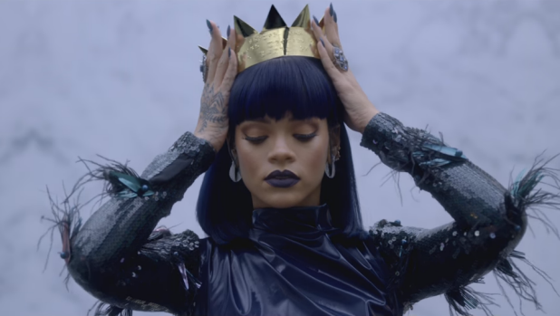 Rihanna in a teaser trailer ahead of her new album, <em>Anti</em>.