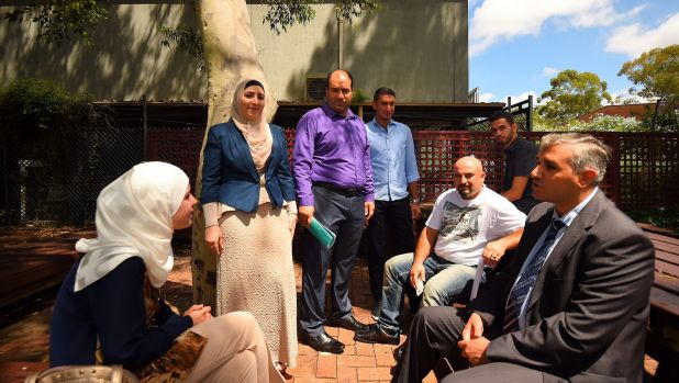 The members of the newly formed Syrian Community Association will help new refugees settle into Australian society. ...