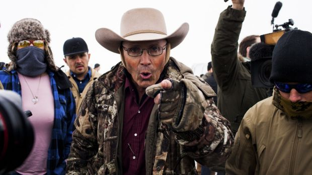 """I have no intention of spending any of my days in a concrete box"": LaVoy Finicum."