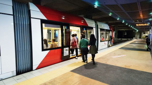Patronage has surged on the trams between Central Station and Dulwich Hill in Sydney's inner west in recent years.