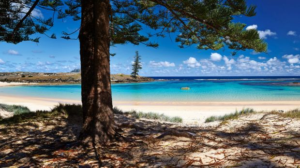 About 1500 people live on Norfolk Island, 1400 kilometres east of Australia.