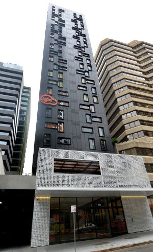 The 23-storey building has not been certified.