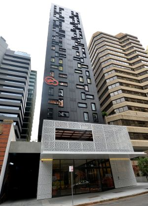 The 23-storey Iglu Brisbane has not been certified.