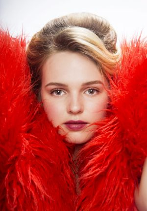Portrait shot of Odessa Young.