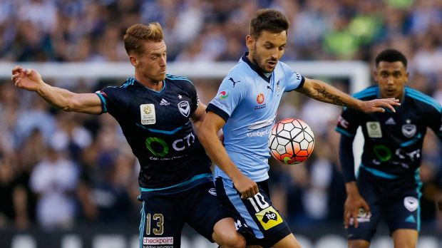 Fresh approach: Milos Ninkovic and his Sydney FC teammates will be hoping for better luck in attack against Brisbane.