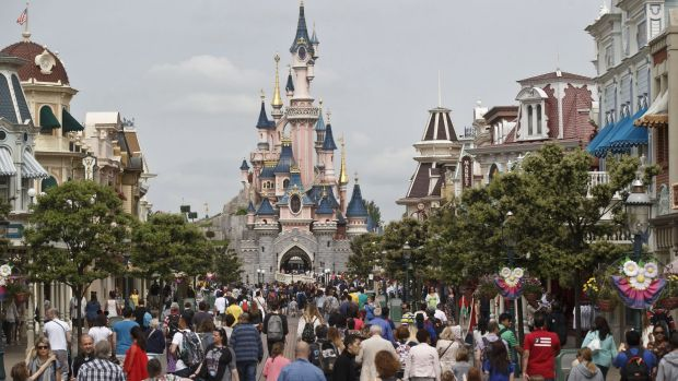 The man was arrested at Disneyland Paris' New York Hotel.