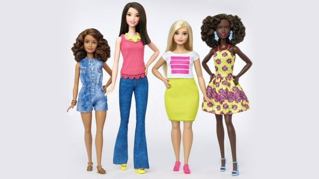 Change: Barbie has released three new body types – tall, curvy and petite and a variety of skin tones, hairstyles and ...