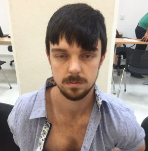 Ethan Couch after he was taken into custody in Puerto Vallarta, Mexico.