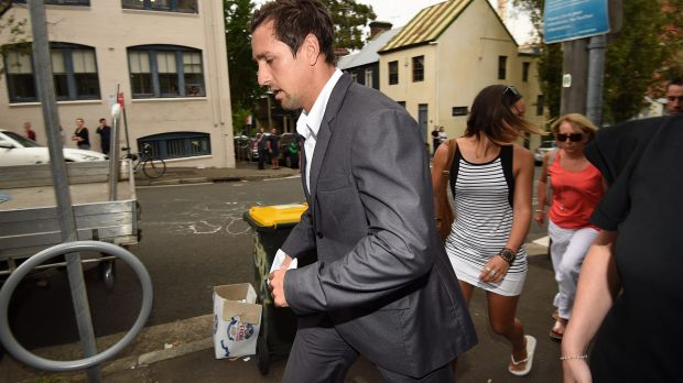 Mitchell Pearce after an apology for his drunken behaviour captured in an Australia Day video.