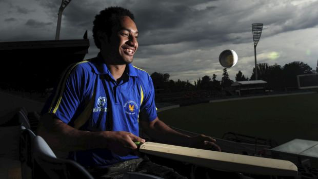 PNG international cricketer Jason Kila is spending his summer in Canberra playing with North Canberra Gungahlin.