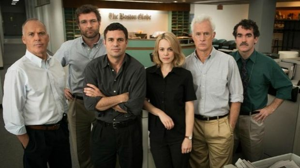 Pursuing priests: the crusading cast from Spotlight.