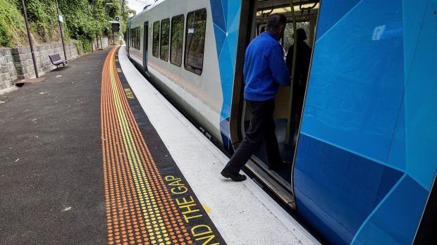 Mitchell Callaghan died when he fell between the train and the platform at Heyington Station.