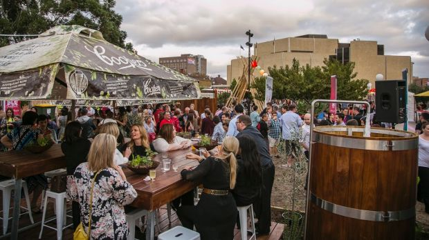 WAtoday's inaugural Night Noodle Markets at Perth Cultural Centre in 2015.