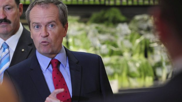 Labor leader  Bill Shorten has been accused of scaring consumers.
