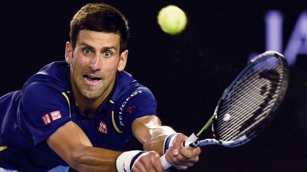 Hot streak: Novak Djokovic is favourite to win the Australian Open.