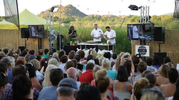 Kimberley Kitchen at the Kununurra Country Club Resort featuring George Calombaris.