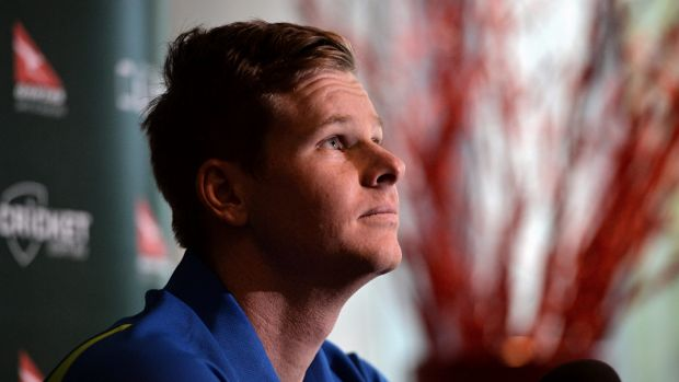 Steve Smith in Melbourne on Friday.