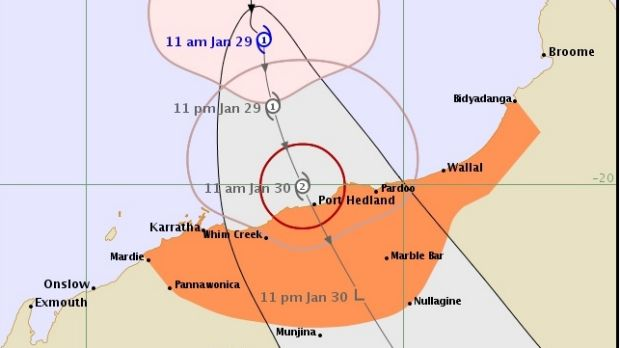 Tropical cyclone Stan is due to make landfall around midday Saturday.