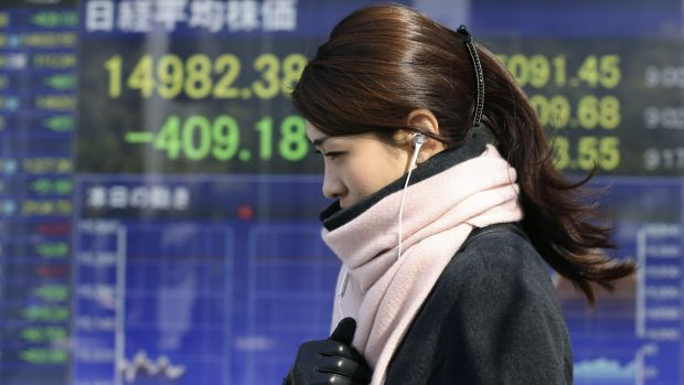 Asian equities took their cue from Wall Street, where the S&P 500 closed at its highest level this year.
