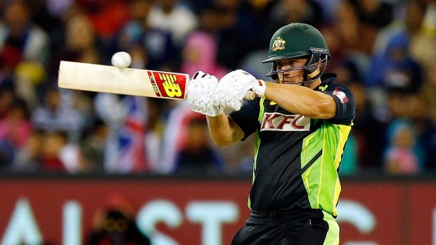 Aaron Finch has signed with Surrey.