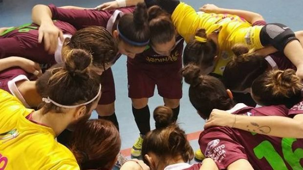 Team spirit ... The women of Italian club Sporting Locri defied mafia-style threats and played on.