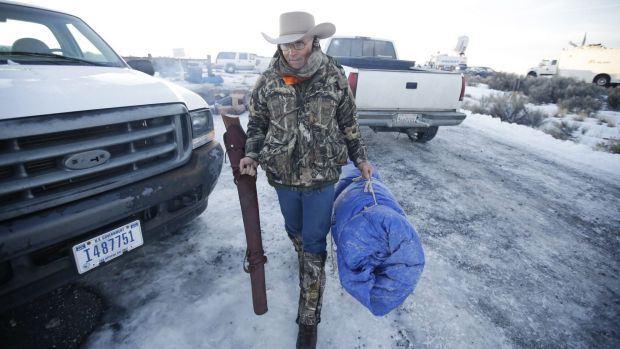 Armed Oregon occupier LaVoy Finicum was shot dead.