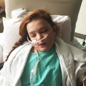 Phelicity Sneesby, 13, of Ballina, who has a congenital heart defect.