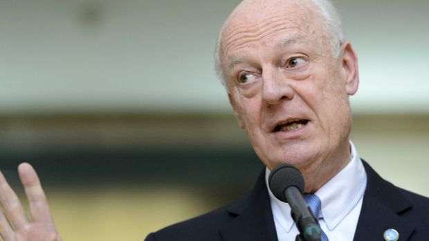 UN Special Envoy of the Secretary-General for Syria, Staffan de Mistura.