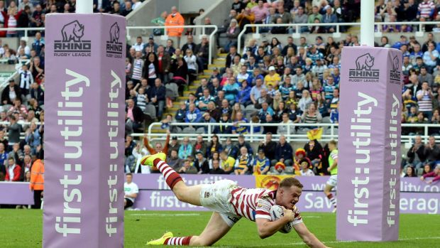 New chapter: Try-scoring machine Joe Burgess will play for the Sydney Roosters in 2016.
