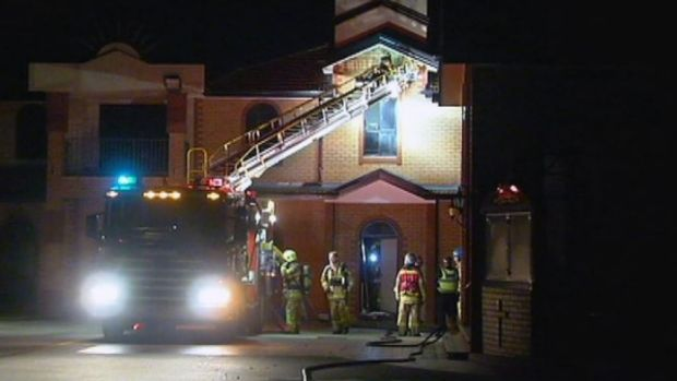 The MFB extinguished the fire at 12.30am.