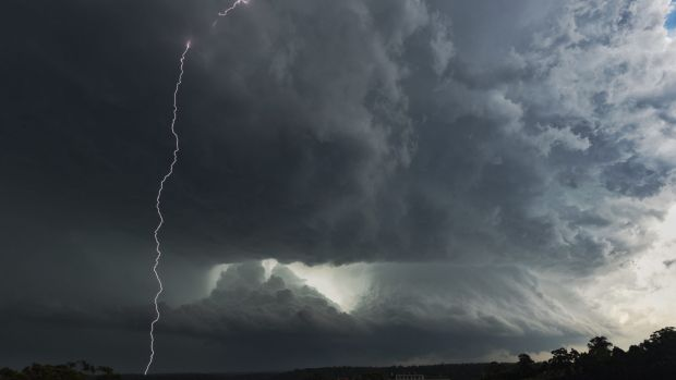There won't be a repeat of this weekend's storms - at least for a while.