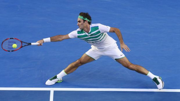 Surgery: Roger Federer will miss a month's tennis due to a knee injury.