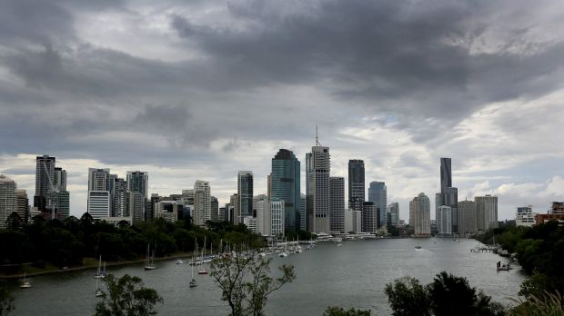 Friday may be clear but by Easter Sunday forecasters say Brisbane can expect rain and possible storms.