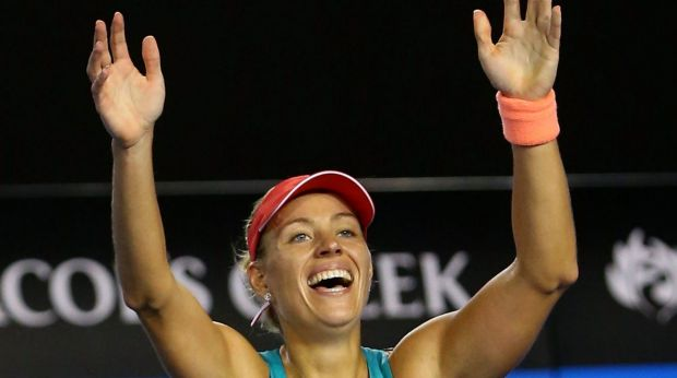 Angelique Kerber wins the 2016 Australian Open.