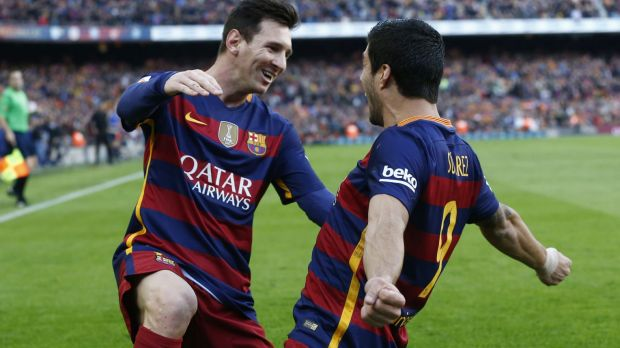 Dream meeting?: Lionel Messi (left) in understood to be meeting young fan Murtaza Ahmadi.