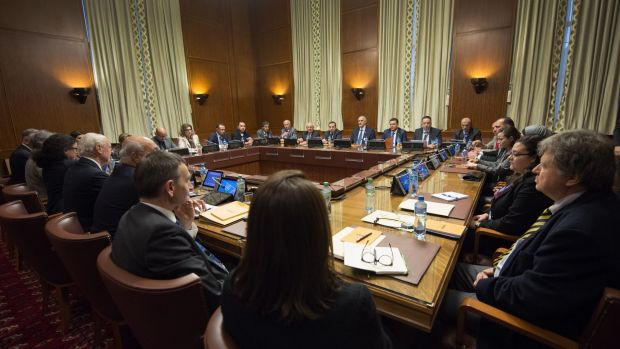 Overview of the Syria peace talks in Geneva, Switzerland, on Friday.